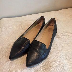 Black Leather Flats by Dolce Vita sz 10